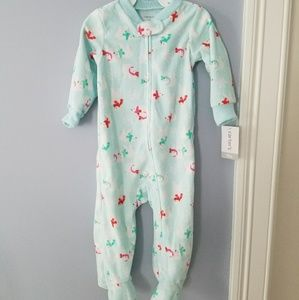 Carters Baby Fleece Footed Pajamas