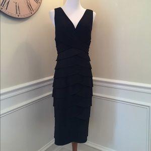 Adrienna Papell women black dress