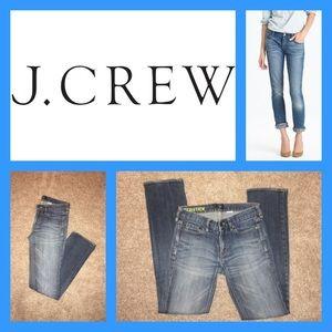 J. Crew matchstick denim Jeans NWOT