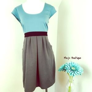⭐️Old Navy Gorgeous Teal & Gray Dress⭐️