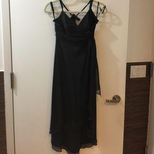 BCGB Maxazria Black Cocktail Dress