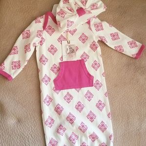 Jessica Simpson baby sleeper outfit