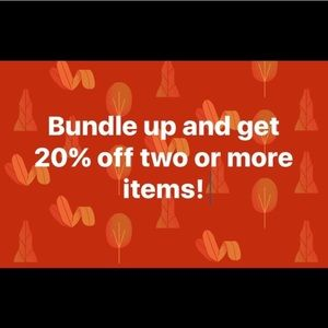 Other - Bundle for private discount! Will be at least 20%