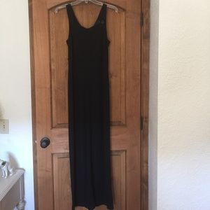 Carol little black long dress