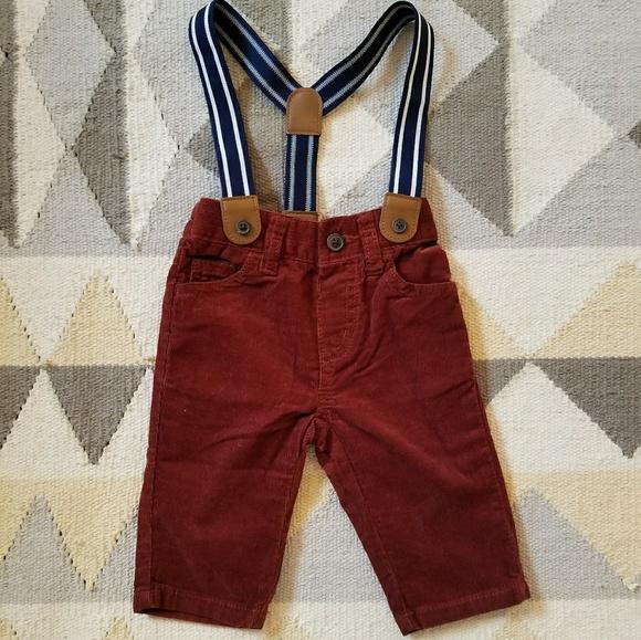 Gymboree Other - Gymboree 6-12 Months Courderoy Pants   Suspenders 36d6fa01a71