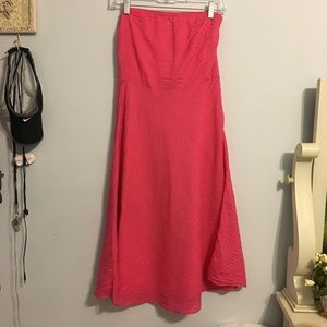 Beautiful pink J. Crew dress!