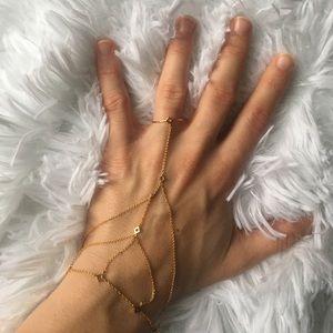 gorjana ring finger bracelet