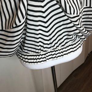BCBGMaxAzria Tops - BCBGMAXAZRIA black and white top