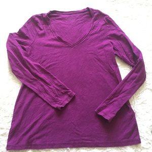 Patagonia Cotton Long Sleeve T Shirt