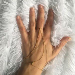 gorjana ring to bracelet piece.