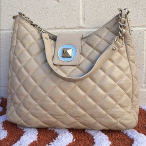 Kate Spade Gold Coast quilted Janica handbag