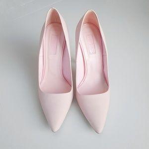 Topshop Pastel Pink Pumps