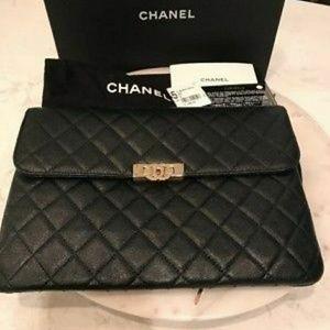 Chanel Pouch Black