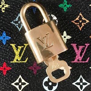 Louis Vuitton Lock & Key: Clean & Shiny!