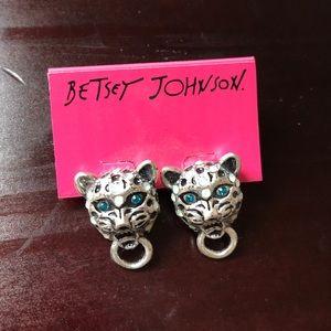 Betsey Johnson Jaguar Earrings