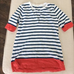 Jcrew striped top