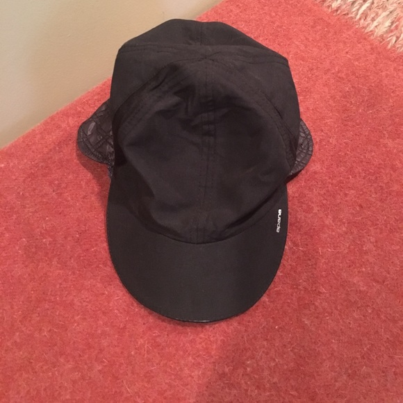 43fa2d2f Apana Accessories | Black Quilted Yoga Reflective Hat | Poshmark