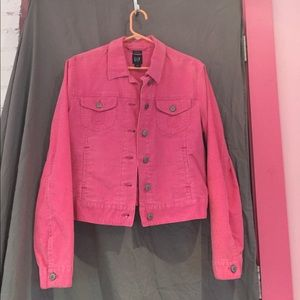 GAP pink corduroy jacket size L
