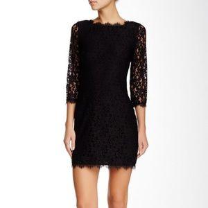 Diane von Furstenburg Colleen dress size 6 black