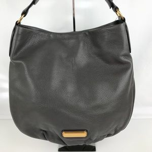 Marc Jacobs New Q Hillier Hobo in Faded Aluminum