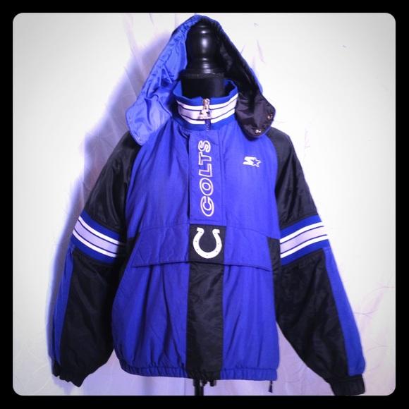 half off 49378 ff80f NFL ProLine Starter COLTS Jacket