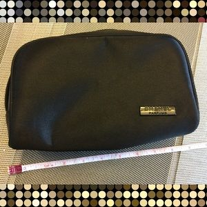 Brand new authentic satin Chanel makeup bag