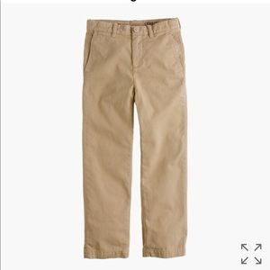 J. Crew boys navy chinos size 7 straight fit GUC