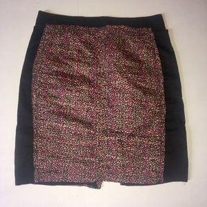 J. Crew mini skirt dot design size 4 100% cotton