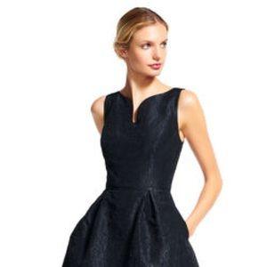 Adrianna Papell Floral Jacquard Dress LBD NWT