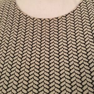 Loft herringbone knit dress