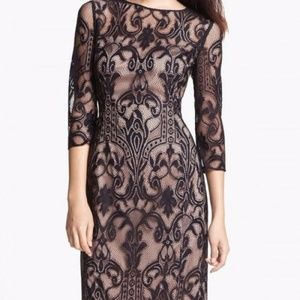 NWT Adrianna Papell Lace Sheath Dress Sz 4