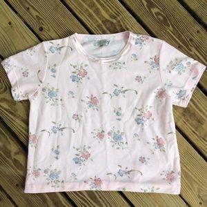 Tops - Pastel Floral Top