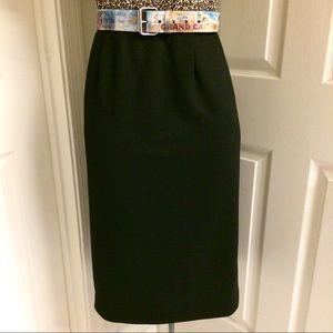 VINTAGE polyester skirt 🖤