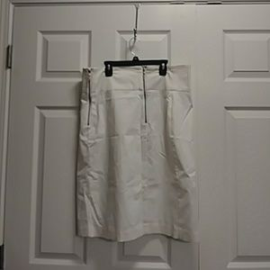 Worthington white skirt