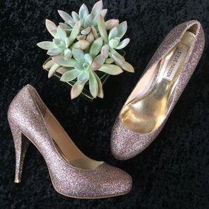 Steve Madden 'Miami' glitter heels, size 9.5