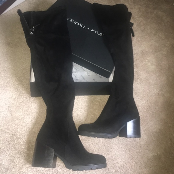 56efacc9959 Kendall   Kylie Shoes - Kendall + Kylie over the knee boots sawyer 7.5