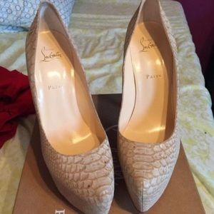 Christian Louboutin Heels Only Wore Once