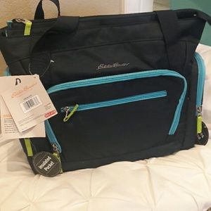 Eddie Bauer First Adventurw Navy blue Diaper Bag