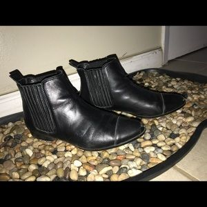 Steve Madden Joshua Leather Booties