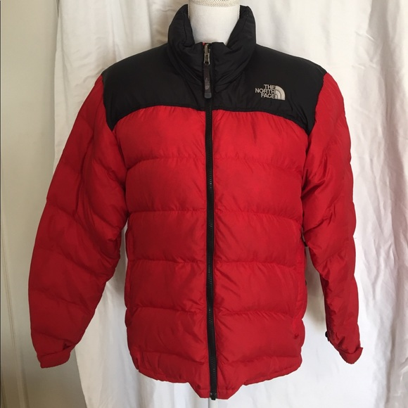 The North Face Jackets Coats Men Small Puffer Jacket Red Black