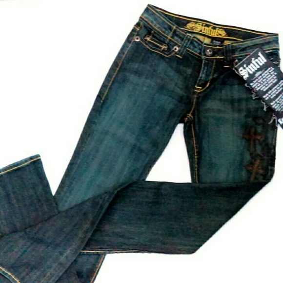 Sinful Denim - HP Handcrafted Custom Sinful Jeans