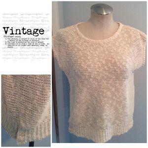 Vintage 1980's Cream Sweater
