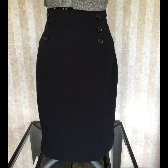 Worthington Dresses & Skirts - High waist black pencil skirt