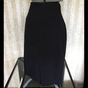 Worthington Skirts - High waist black pencil skirt