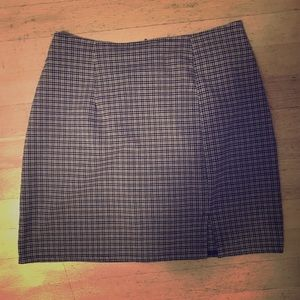 Vintage Schoolgirl Plaid Skirt