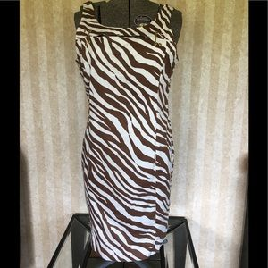 MICHAEL Michael Kors animal print dress.