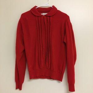 Vintage 90's Cashmere Peter Pan Collar Sweater