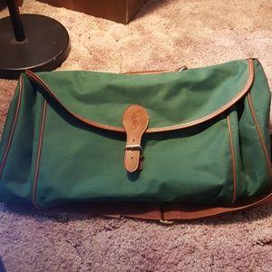 Ralph Lauren Green Weekend Bag