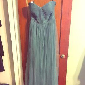 Jenny Yoo Vintage Teal Annabelle Dress