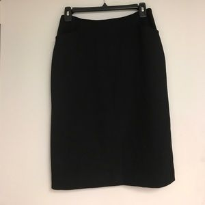 Black pencil skirt perfect for work!